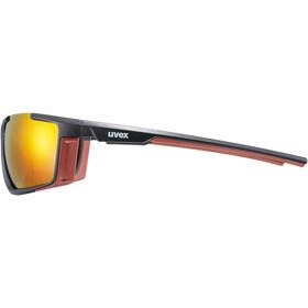 UVEX Sportstyle 310 Glasses black matt/red/mirror red
